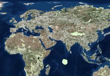 As linhas em branco indicam os milhares de corredores, em todos dos continentes, onde poderiam ser criados os corredores ecológicos. Imagem - Divulgação