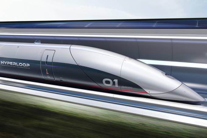 O Hyperloop será pesquisado em Contagem