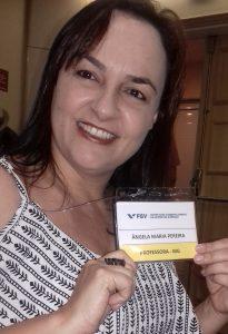Ângela Campos, diretora da escola Terezinha Pereira