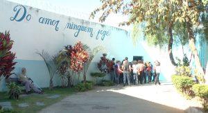 Entrada da Apac de Itaúna, a primeira a ser inaugurada em Minas Gerais