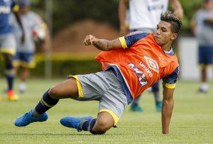 Argentino Lucas Romero - Foto - Washington Alves/Cruzeiro