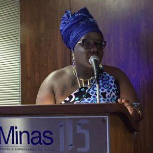 Diretora Makota Kisandembu lembra que 53% da população de BH se autodeclara preta ou parda. Foto - arquivo pessoal