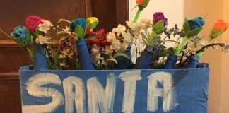 Projeto Santa Leitura existe em Belo Horizonte desde 2010. Fotos - Estella Crusmel - arquivo pessoal