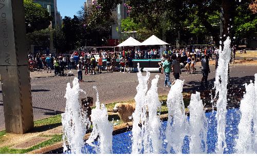 Programa BH é da Gente retoma atividades no domingo para oferecer lazer para a população em espaços públicos. Foto - divulgação