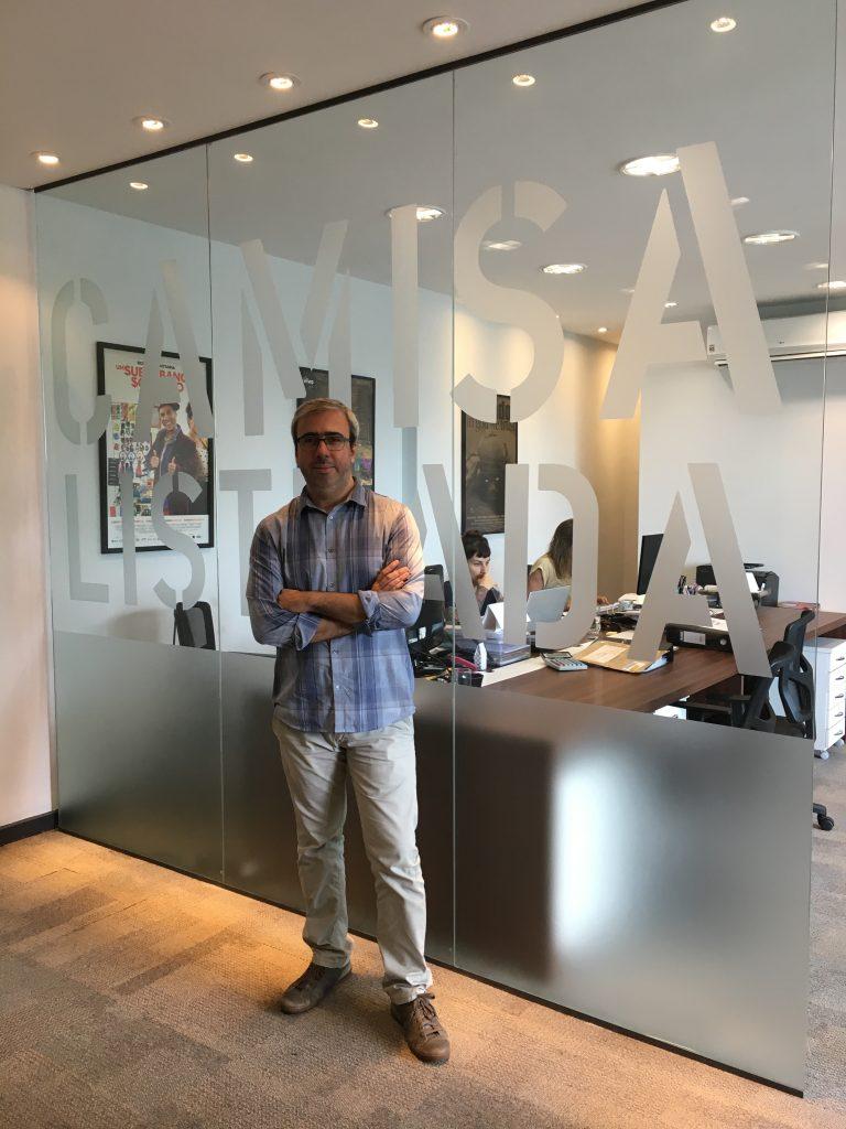 O produtor André Carreira