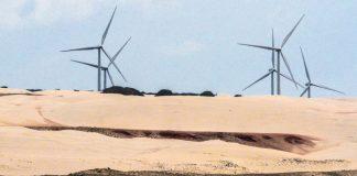 A energia eólica cresce no Brasil