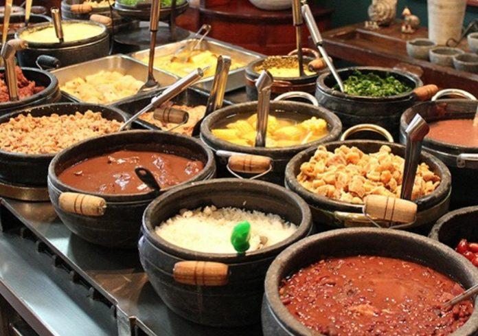 As receitas da culinária mineira preparadas por Dona Lucinha são famosas em todo o Brasil. Foto - divulgação