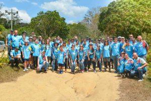 Voluntários do Movimento Todos pelo Rio Doce vão cercar nascentes do rio no dia 5 de junho. Foto - Divulgação