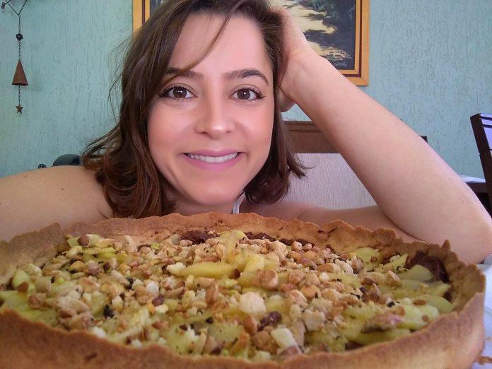 Marina Cunha e sua torta jazz