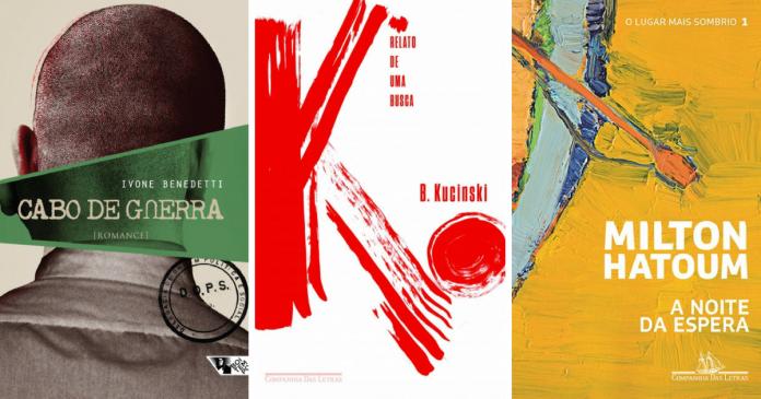 A coluna Bússola destaca três romances sobre a ditadura militar