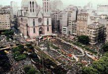 Educação na praça discute a história do Brasil
