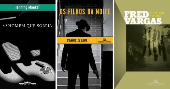 A coluna Bússola sugere três romances policiais