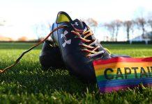 A iniciativa Rainbow Laces acontece na Inglaterra