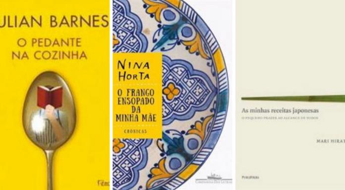 Coluna indica 3 livros sobre gastronomia