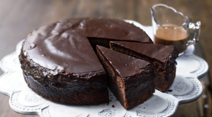 Receita de bolo de chocolate com café