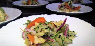 A salada malaia é uma boa opção para dias de calor