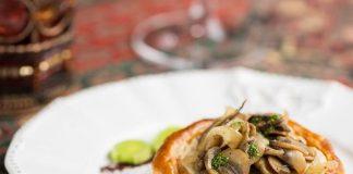 Bistrô: receita de folhado de cogumelos