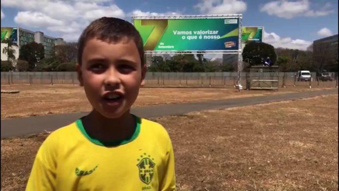 Ivo Gonzales, 9 anos, pegou