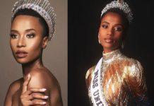 Nova Miss Universo é Zozibini Tunzi, de 26 anos, da África do Sul