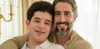 O apresentador Marcos Mion com o seu filho Romeo, que dá nome à nova lei que cria a Carteira Nacional do Autista. Foto/Intagram Marcos Mion