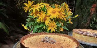 Um dos deliciosos bolos feitos pela especialista Gisele Bicalho. Foto - Arquivo pessoal